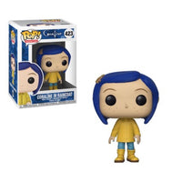 Animation #0423 Coraline in Raincoat