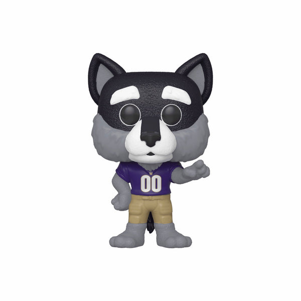 College Mascots #003 Harry the Husky - University of Washington