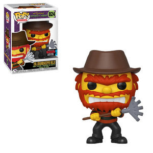 Television #0824 Evil Groundskeeper Willie - The Simpsons: Treehouse Of Horror