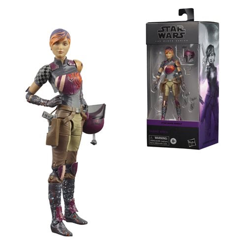 "Hasbro • Star Wars : Rebels 6"" The Black Series - Sabine Wren"