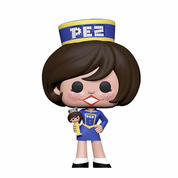 Ad Icons #080 Pez Girl (Brunette)