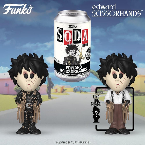 PREORDER • Vinyl Soda - Movies : Edward Scissorhands • LE 10,000 Pieces