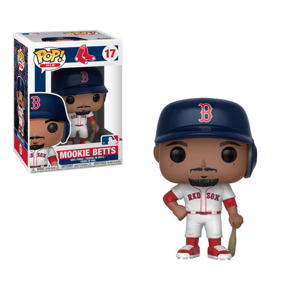 new product 10640 6b820 MLB #017 Mookie Betts (Home Jersey)