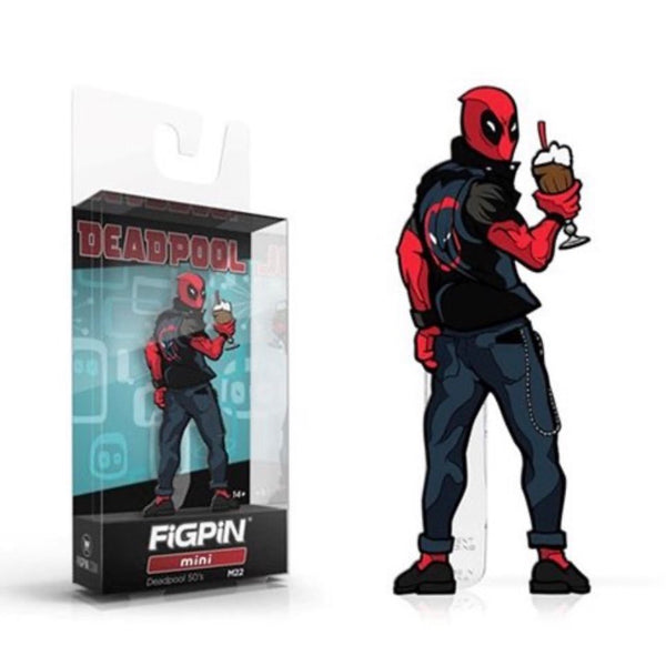 FiGPiN Mini #M22 - Mini Deadpool (50's)
