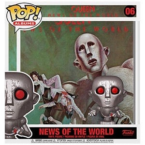 POP! Albums #06 Queen - News of the World