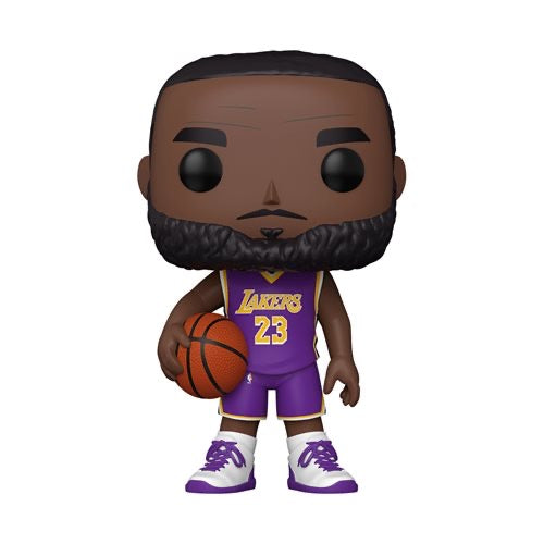 "Basketball #098 Lebron James (10"") - Los Angeles Lakers (Purple)"