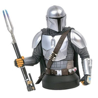PREORDER • Gentle Giant Ltd. : Star Wars Mandalorian MK3 Beskar Metal Armor 1/6 Scale Bust