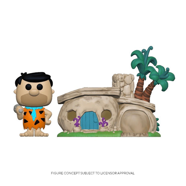 POP! Town #014 Fred Flintstone with House - The Flintstones