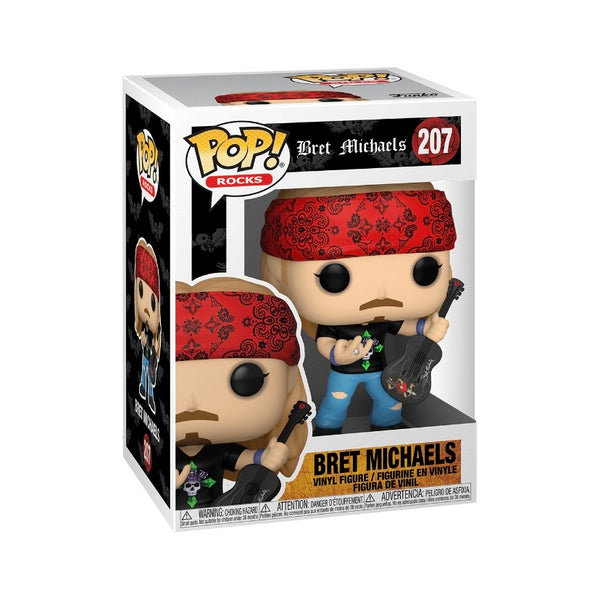 PREORDER • Rocks #207 Bret Michaels