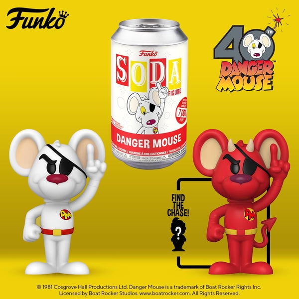 PREORDER • Vinyl Soda - Danger Mouse • LE 7000 Pieces