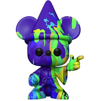 POP! Art Series #015 Sorcerer Mickey #2 - Fantasia 80th Anniversary