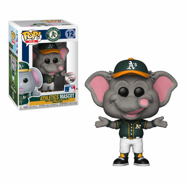 MLB Mascots #012 Stomper - Oakland Athletics