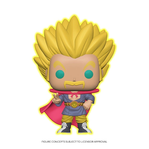 Animation #0818 Super Saiyan Hercule (GITD) - Dragonball Super