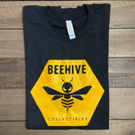 Beehive Collectibles Short Sleeve Tee - Black (OG Logo)