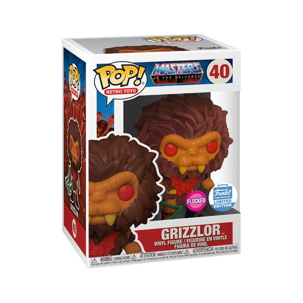 Retro Toys #040 Grizzlor (Flocked) - Masters of the Universe