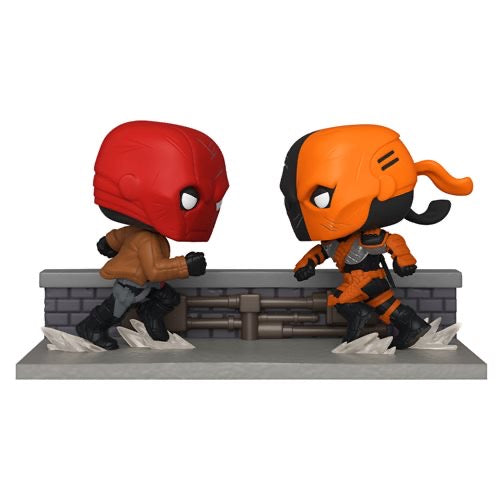 Funko POP! Comic Moments - Red Hood vs. Deathstroke - PX Exclusive