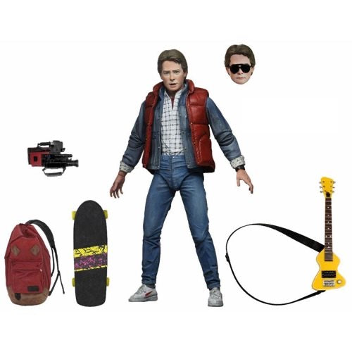 "NECA Ultimate 7"" Scale : Marty McFly - Back to the Future"