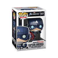 Games #0627 Captain America - Marvel : Avengers