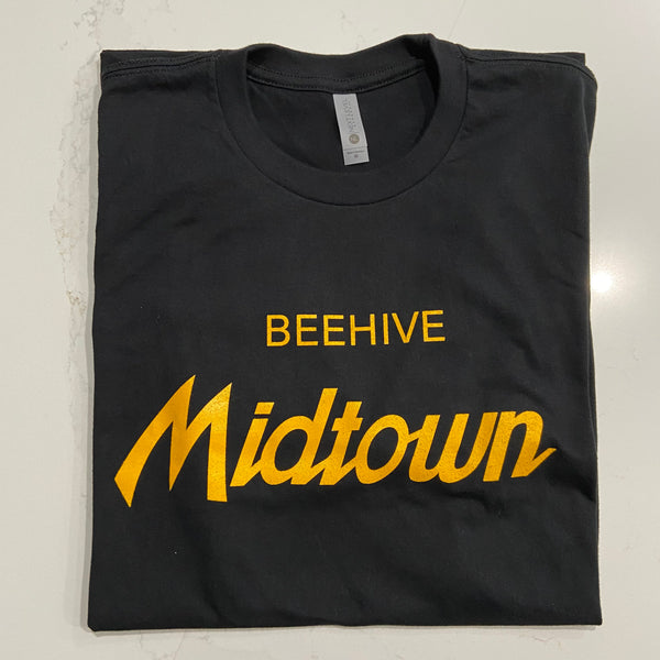 Beehive Collectibles (Beehive Midtown) Short Sleeve Tee - Black
