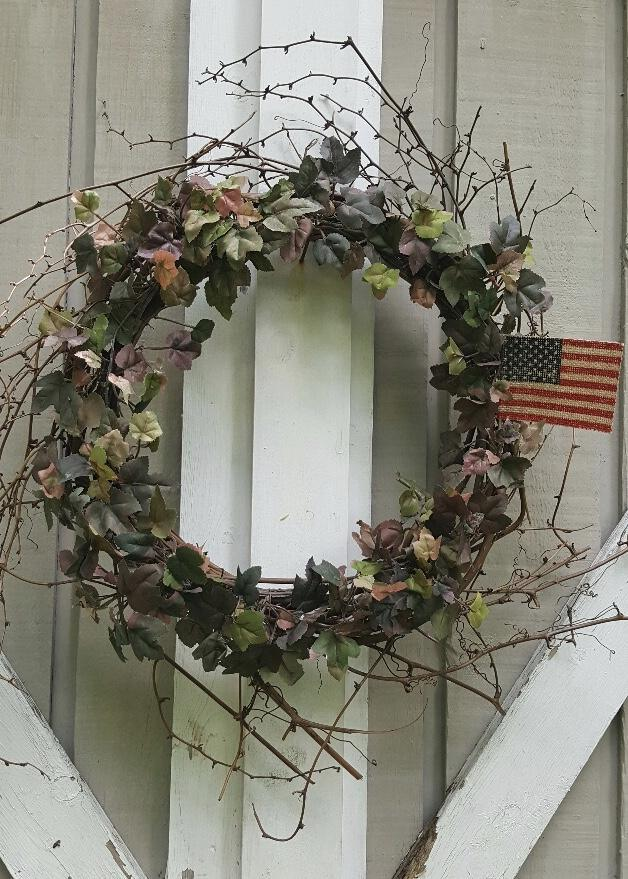 Americana Wreath, American Flag Wreath