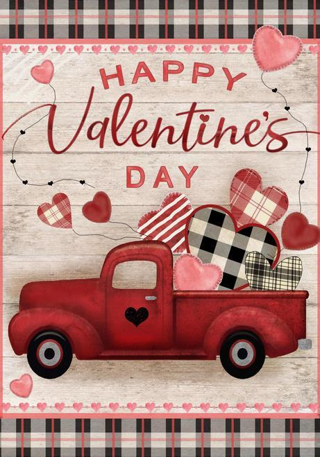 Valentine's Day Rustic Truck Heart Sign Valentine Decor A Rustic Feeling