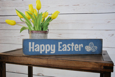 Easter Decorations, Easter Sign, Happy Easter