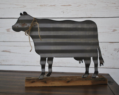 Cow Decoration, Cow Lover Gift, Farmhouse Decor