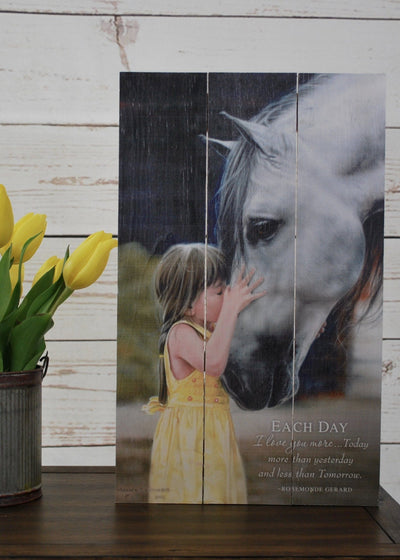 Country Home Horse Sign