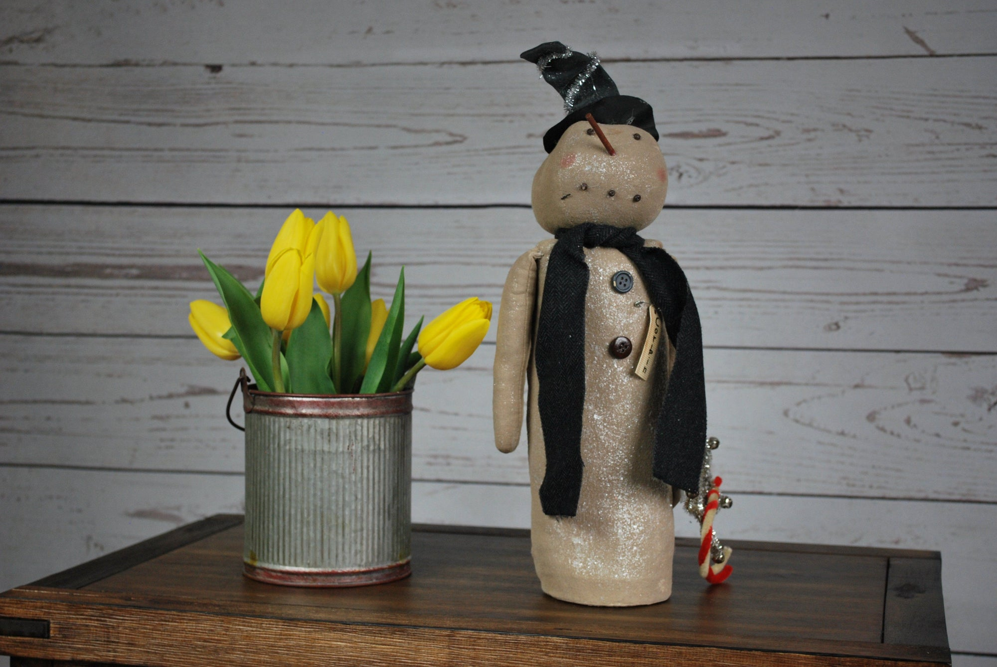 Primitive Christmas Snowman Primitive Decor A Rustic Feeling