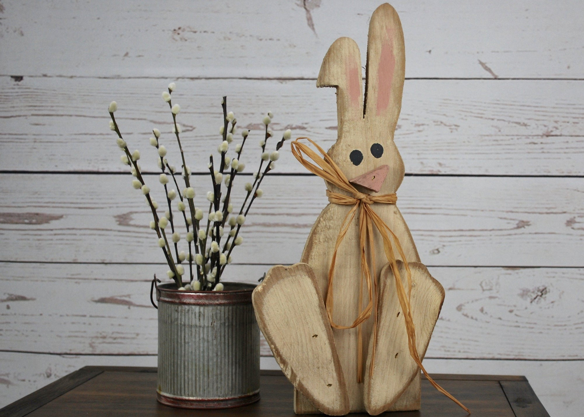 Wooden Easter Bunny, Easter Decorations