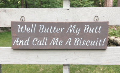 Funny Country Wood Sign