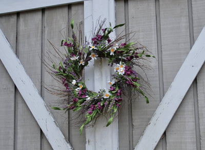 Summer Front Door Wreath