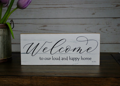 Country Home Welcome Sign