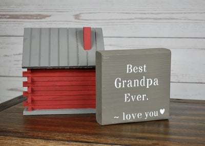 Best Grandpa Ever Sign Wedding A Rustic Feeling