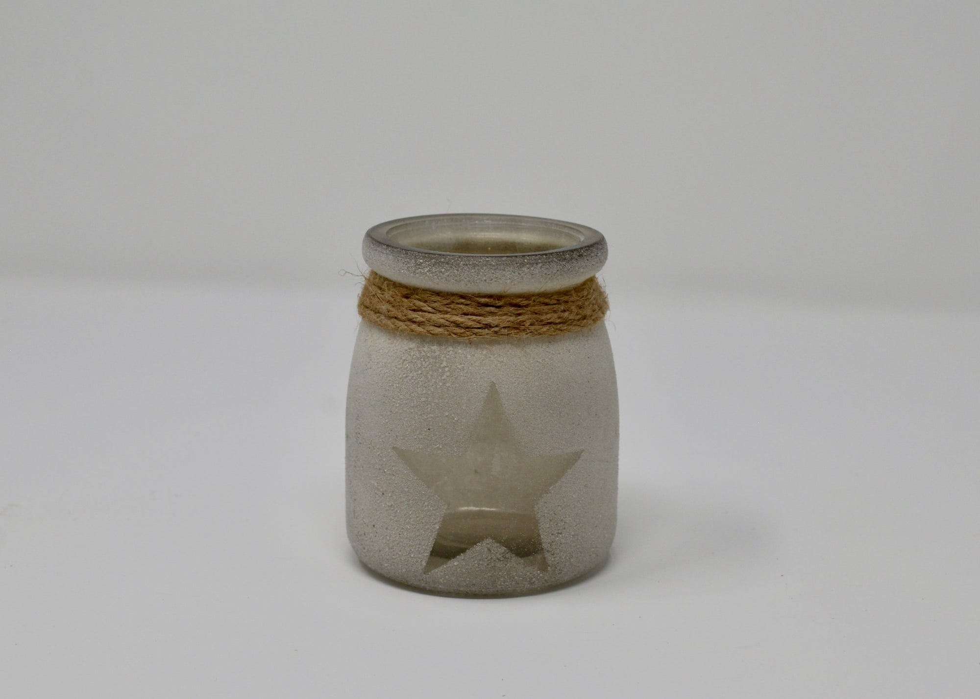 Sand Glass Star Votive