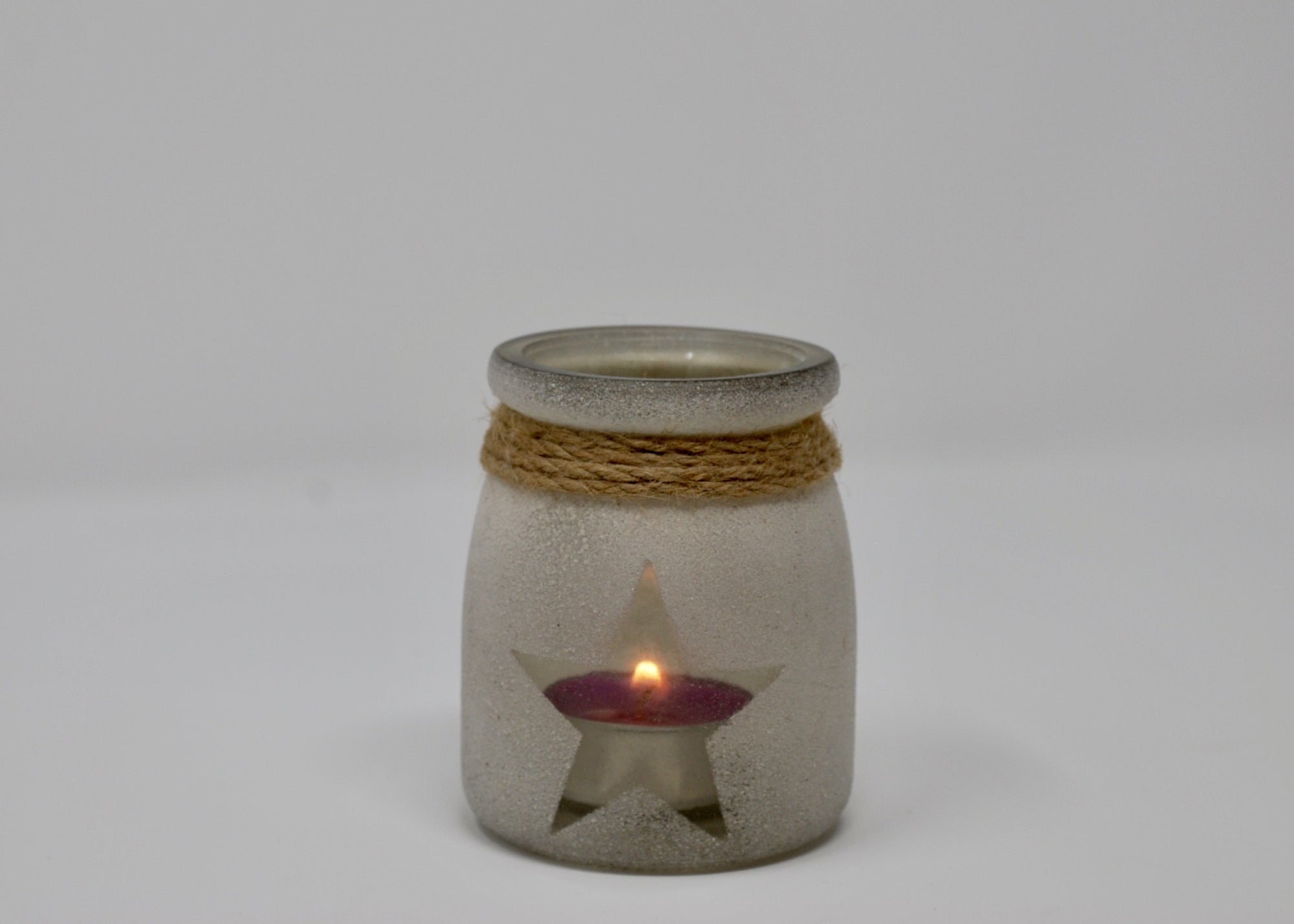 Sand Glass Star Votive Beach Decor A Rustic Feeling