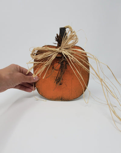 Handcrafted Wood Pumpkin Fall Decor A Rustic Feeling LLC