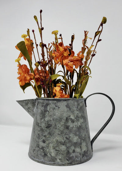 Rustic Tin Pitcher