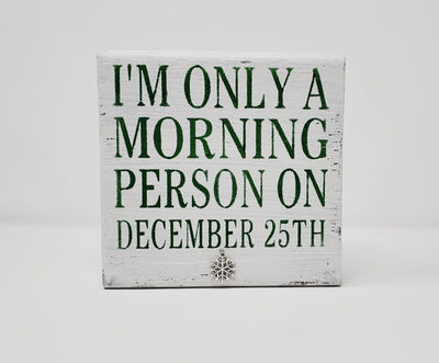 Funny Christmas Sign, Funny Coffee Sign, Coworker Gift