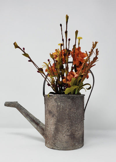 Rustic Watering Can A Rustic Feeling
