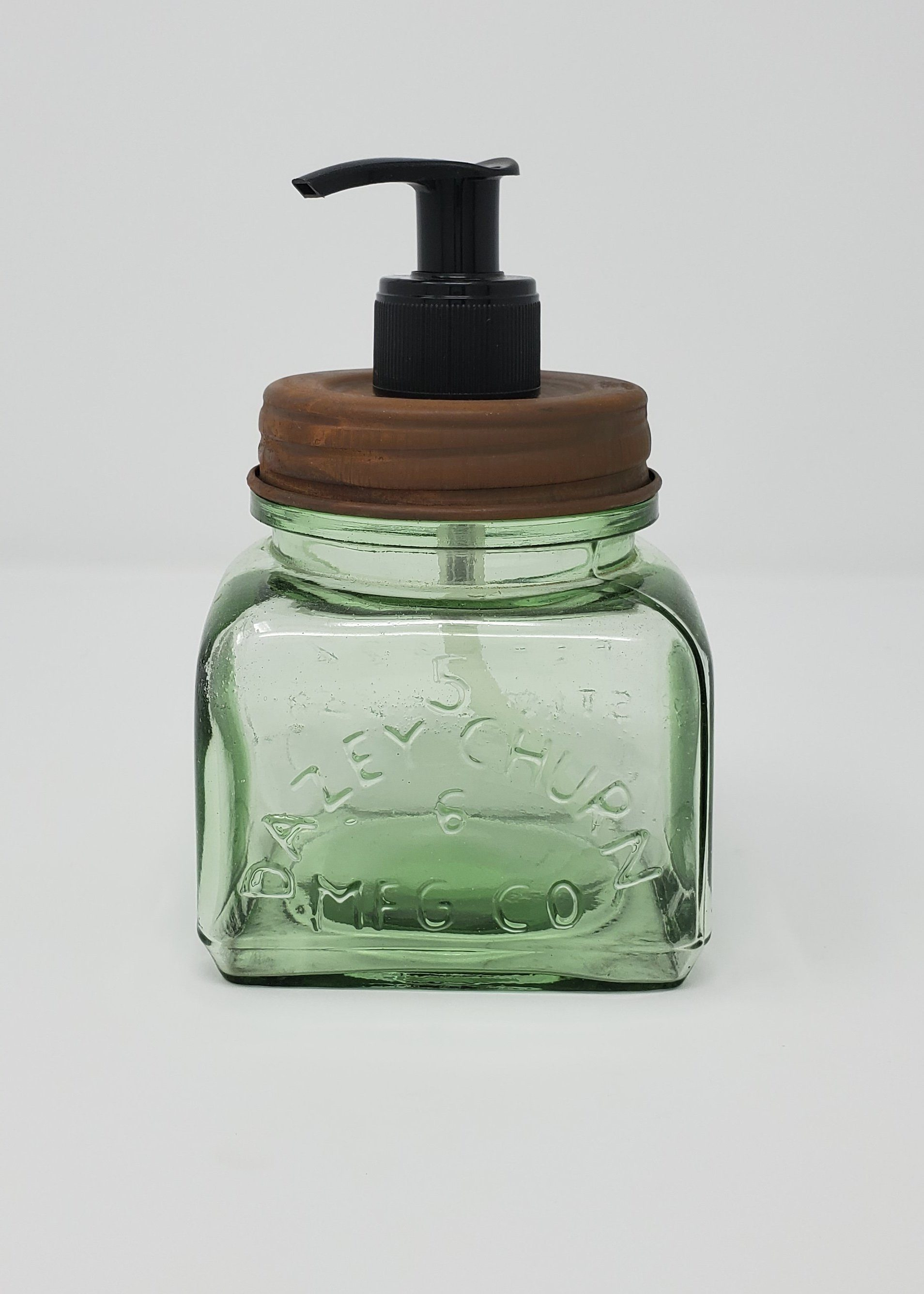 Rustic Farmhouse Kitchen Soap Dispenser