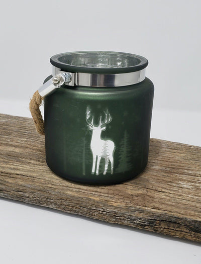 Cabin Decor Deer Candle Holder