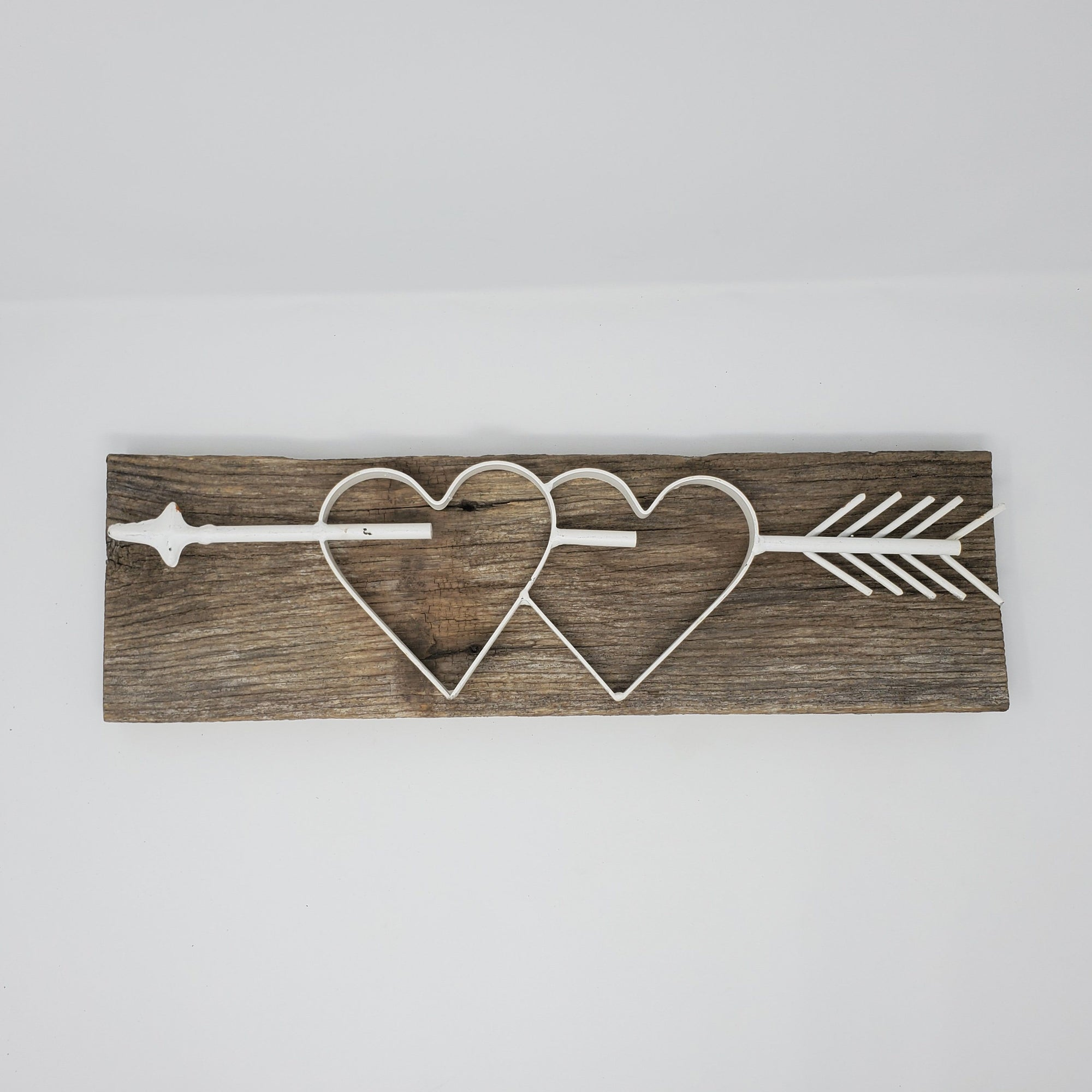 Heart and Arrow Metal Valentine's Day Decor Valentine Decor A Rustic Feeling