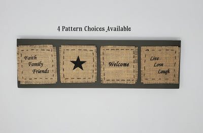 Valentine Gift for Mom, Mom Valentine Gifts Primitive Decor A Rustic Feeling