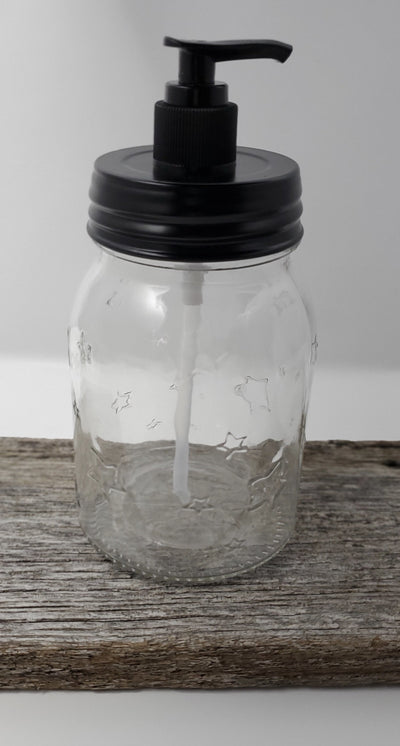 Farmhouse Mason Jar Soap Dispenser Country Home Decor A Rustic Feeling