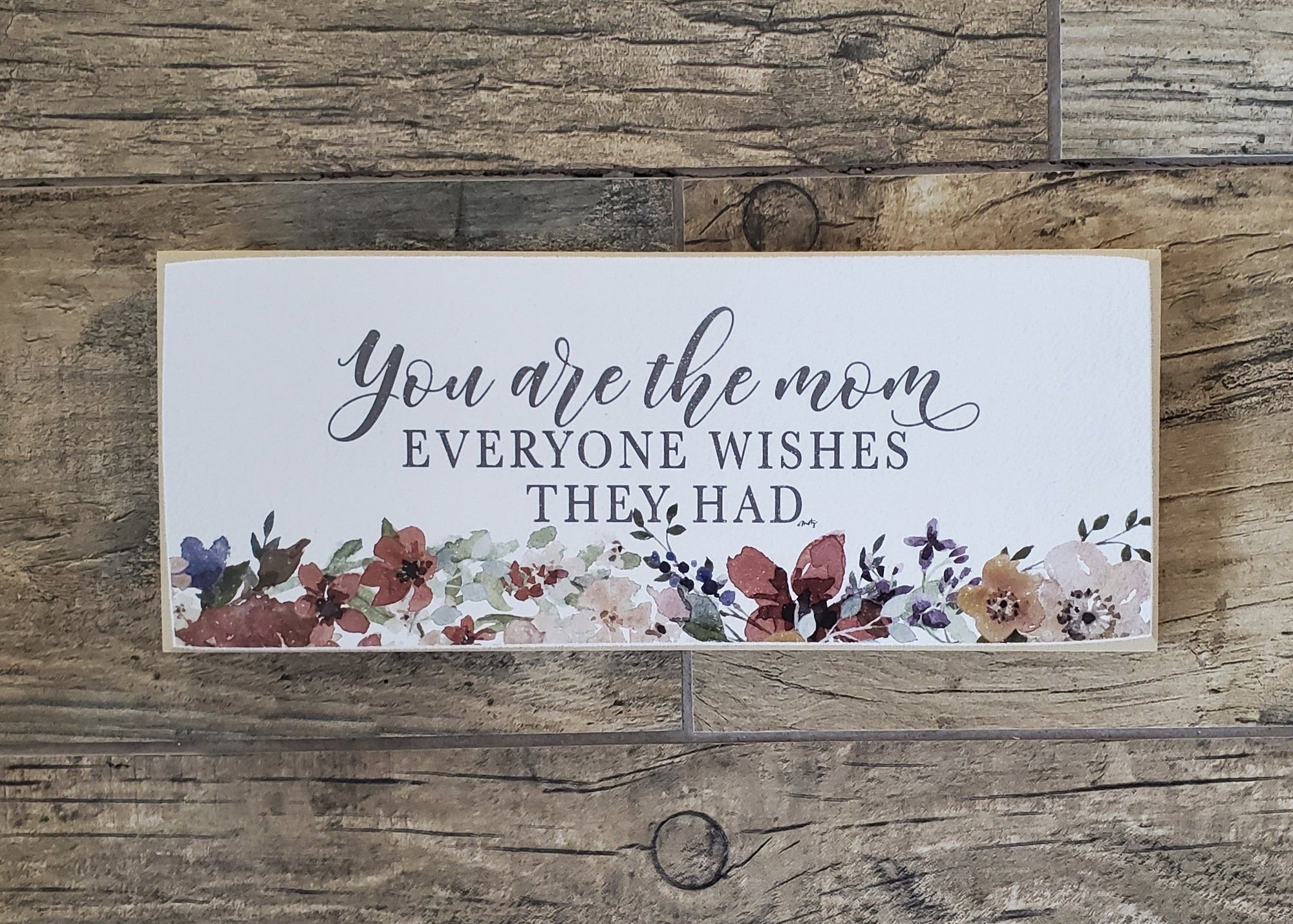 Sweetest Mom Sign Farmhouse Decor A Rustic Feeling