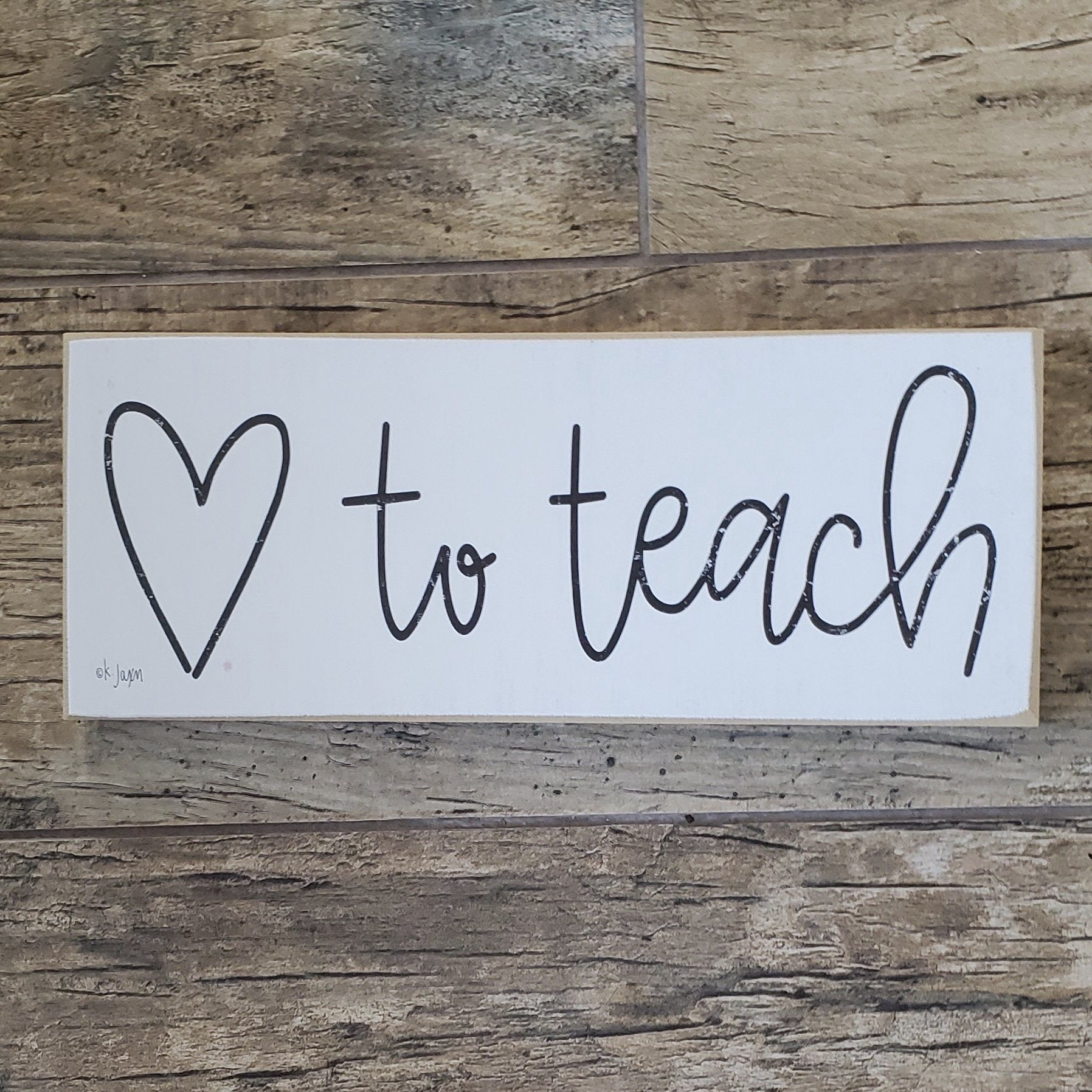 Teacher Gifts, Retirement Gift for Teachers Farmhouse Decor A Rustic Feeling