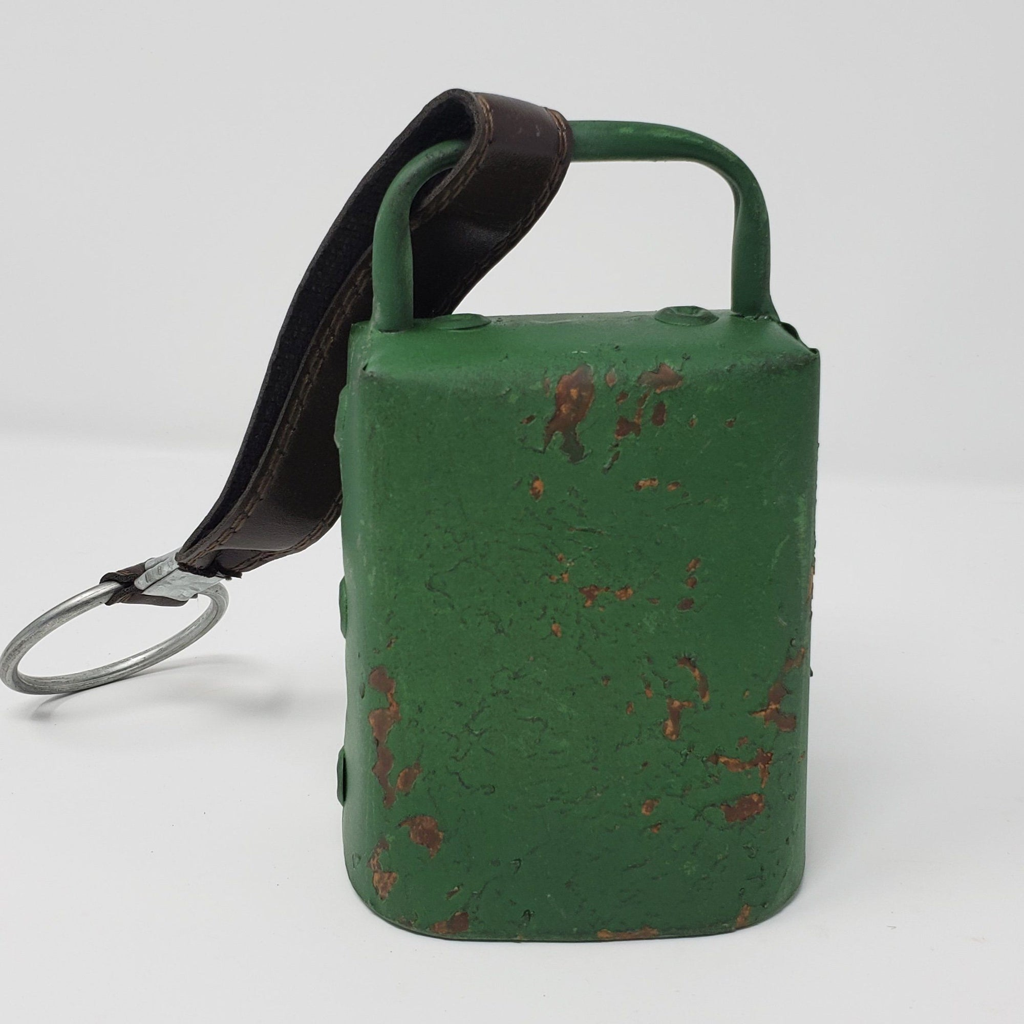 Green Farmhouse Cow Bell Farmhouse Decor A Rustic Feeling