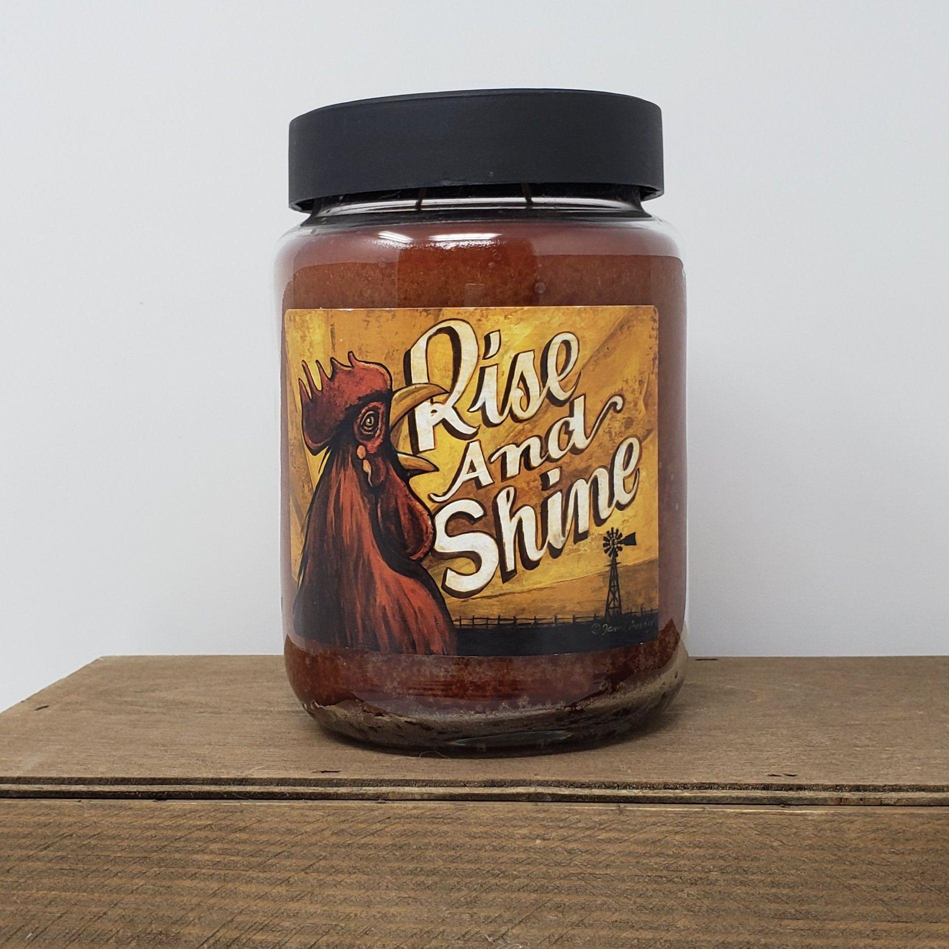 Rise & Shine Jar Candle 26 oz. Farmhouse Decor A Rustic Feeling