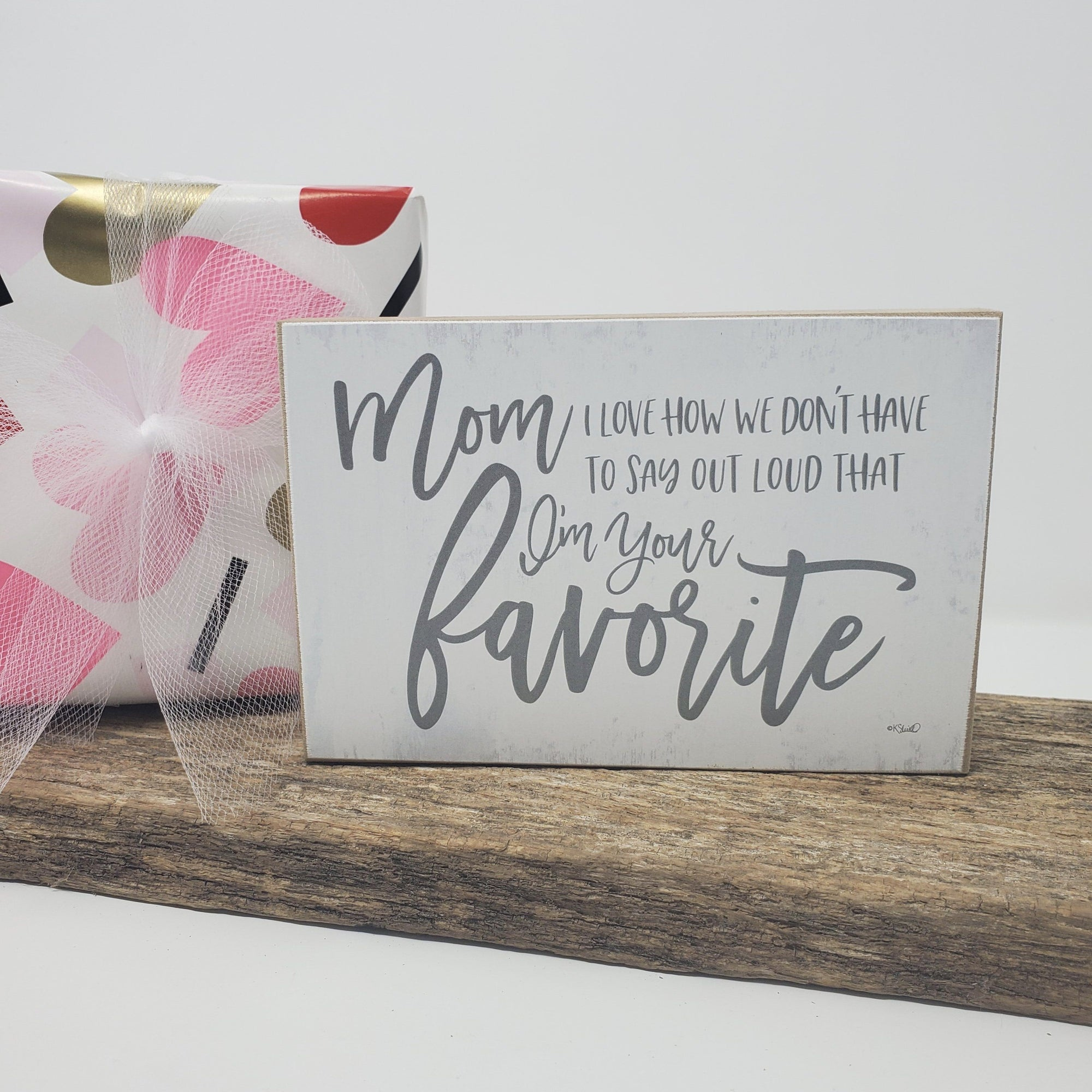 Valentine's Day Gift for Mom Mothers Day A Rustic Feeling
